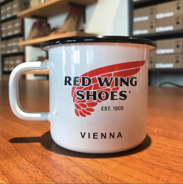 Red Wing Vienna Cup White/Black