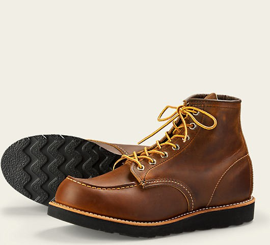 Red Wing 8886 Moc Toe Copper Rough & Tough