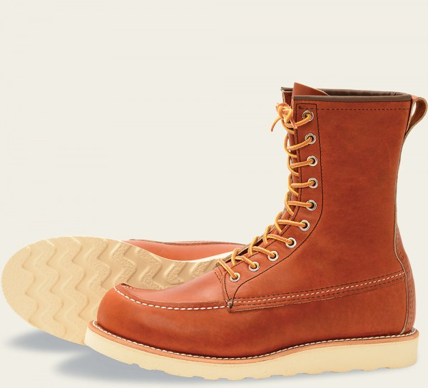 Red Wing 877 Moc Toe 8 Inch Oro-Legacy