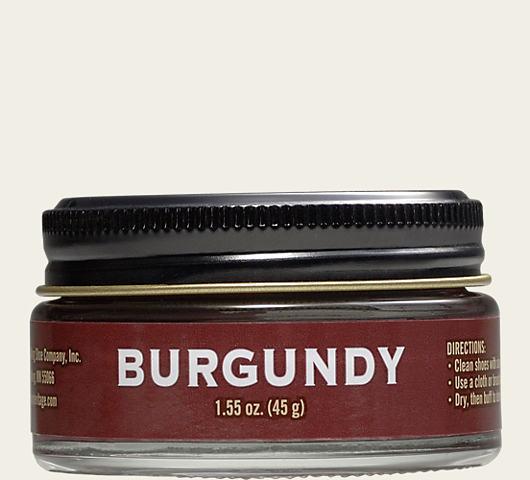 Red Wing Burgundy Shoe Cream