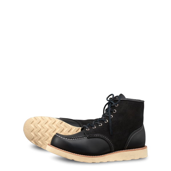 Red Wing 8818 black harness upper tier Moc Toe 1
