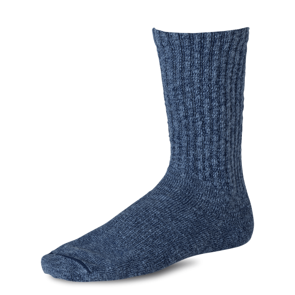 Red Wing 97370 Over-Dyed Cotton Ragg Socks Navy / Blue Unisex