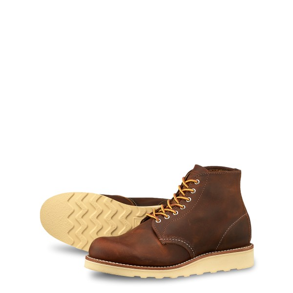 Red Wing Round Toe 3451 Copper Rough & Tough Damen