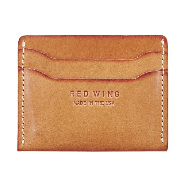 Red Wing 95027 Card Holder Flat London Tan