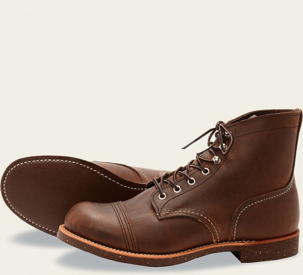 Red Wing 8111 Cork Outsole Iron Ranger Amber Harness Herren