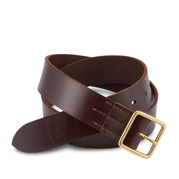 Red Wing 96506 Belt Dark Brown English Bridle Veg-Tan Herren